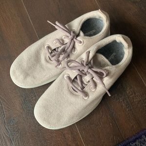 Pink Tan Allbirds Wool Sneaker